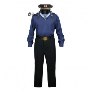 Soviet military Red Army sailor's summer marine uniform Flanka and pants