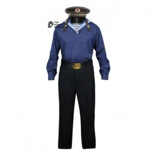 Soviet military Red Army sailor's summer marine uniform Flanka and pants