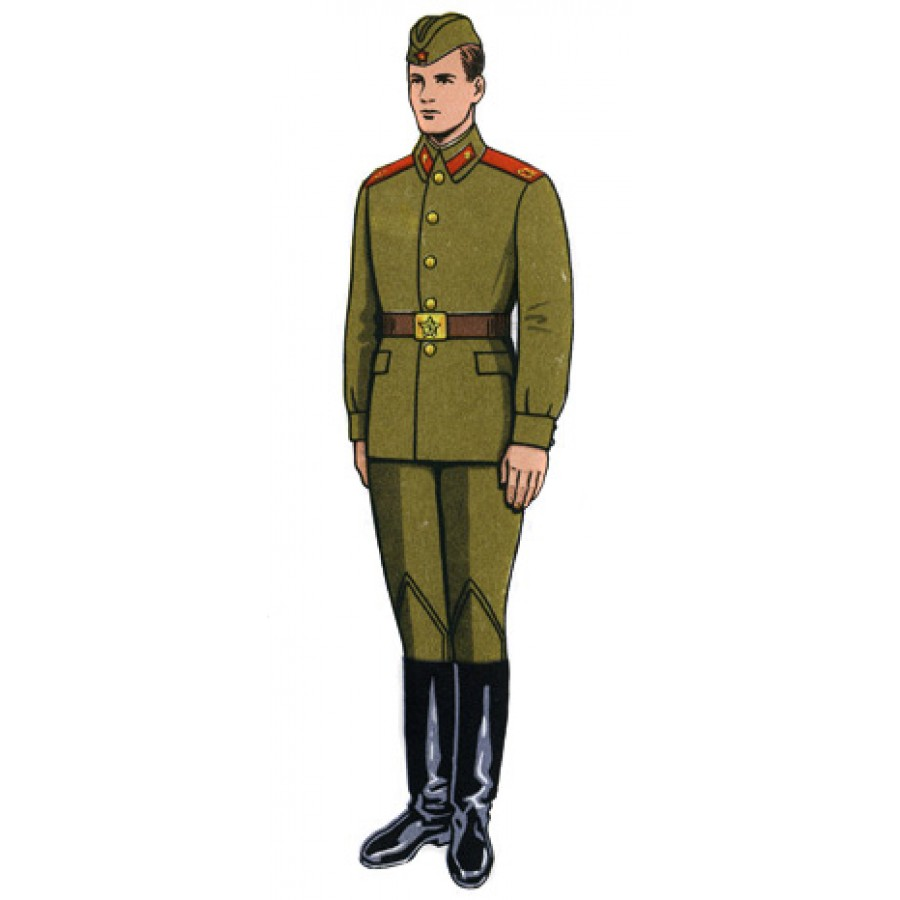 1969 Original Soviet Military Infantry Soldier's Uniform M69, Vintage USSR Army Suite