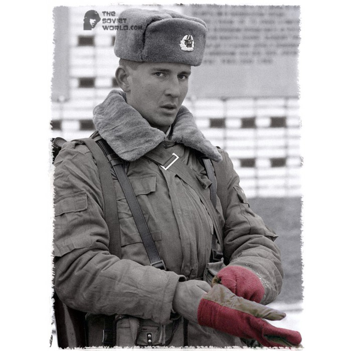 1f236e539543d Russian military Soviet Army soldiers winter USSR Gloves ...